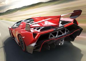 Lamborghini Veneno Roadster zadek