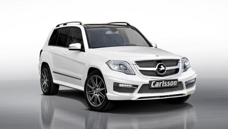 mercedes glk by carlsson